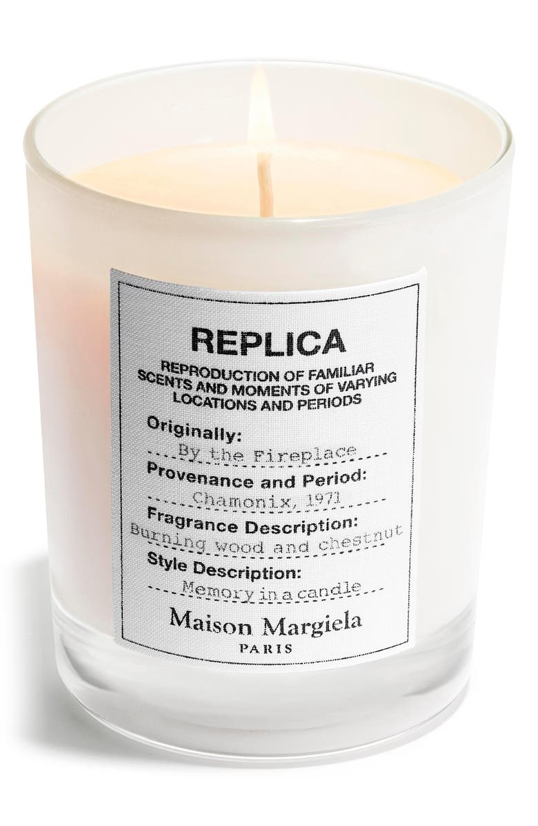MAISON MARGIELA Replica By the Fireplace Candle, Main, color, No Color
