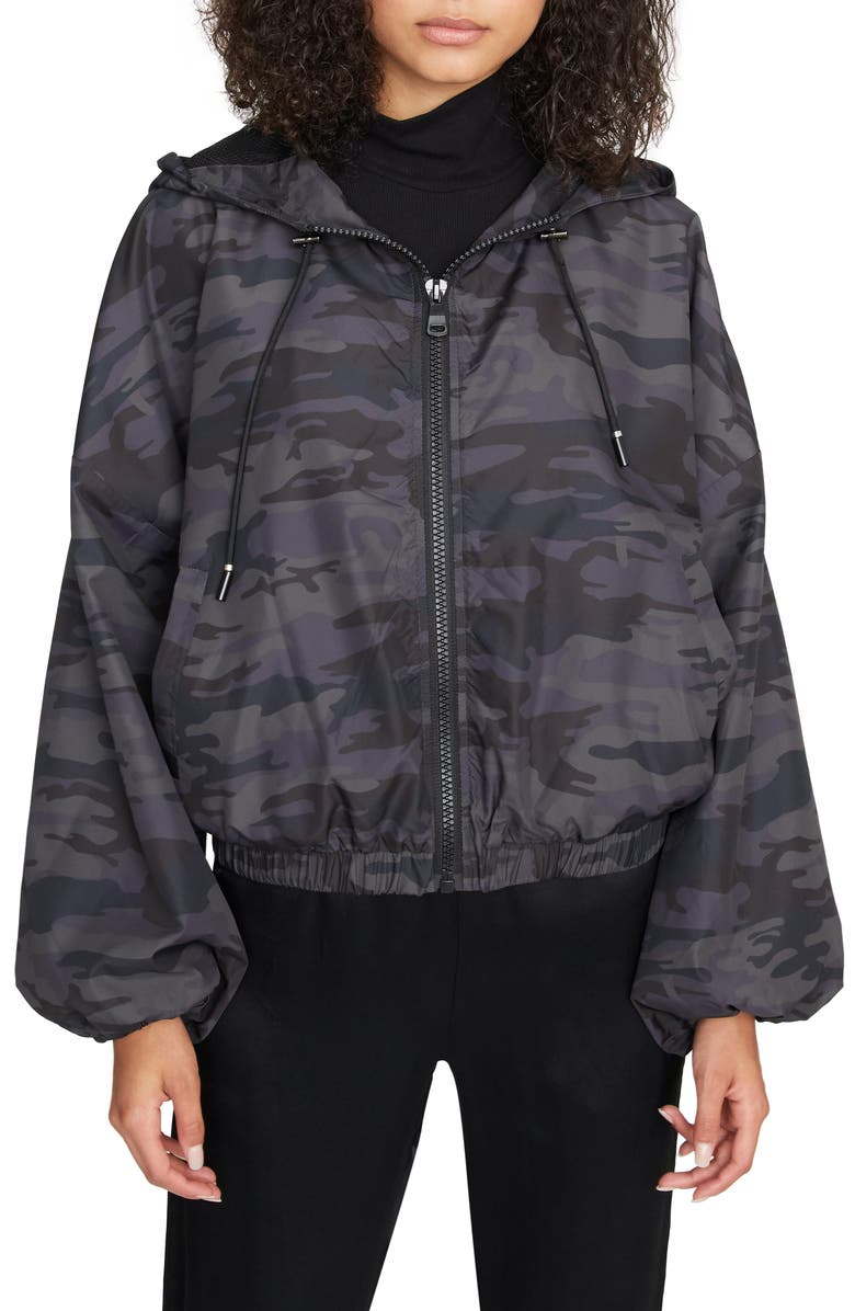 SANCTUARY On the Run Hooded Jacket, Main, color, 021