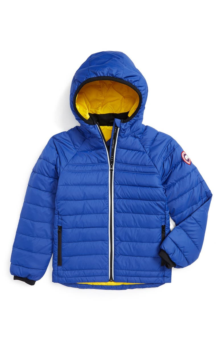 CANADA GOOSE Sherwood Hooded Packable Jacket, Main, color, PACIFIC BLUE