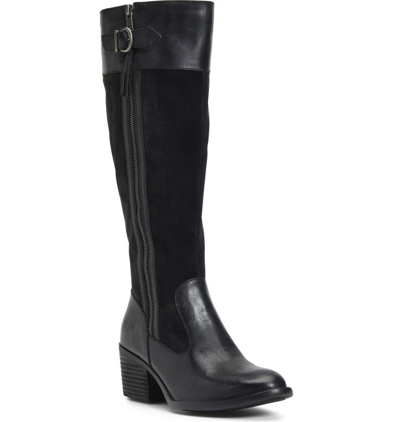BØRN Uchee Knee High Boot, Main, color, 002