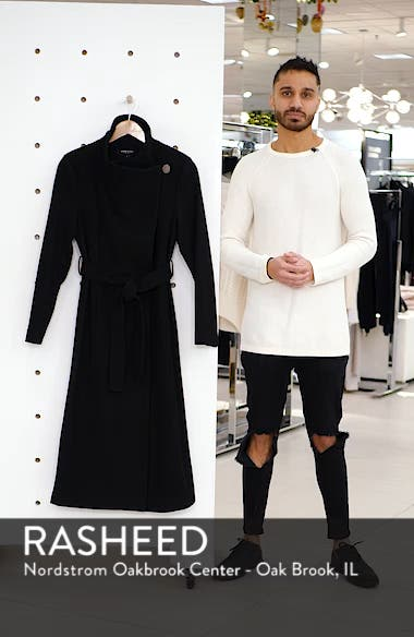 Fencer Melton Wool Maxi Coat, sales video thumbnail
