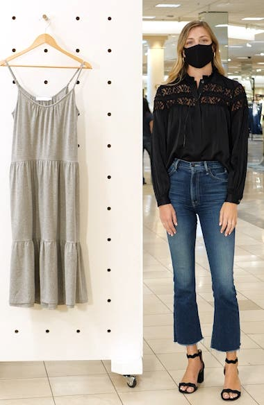 Tiered Jersey Dress, sales video thumbnail