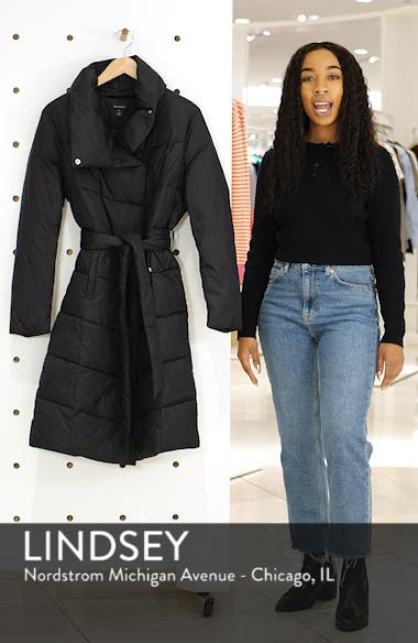 Long Puffer Coat, sales video thumbnail