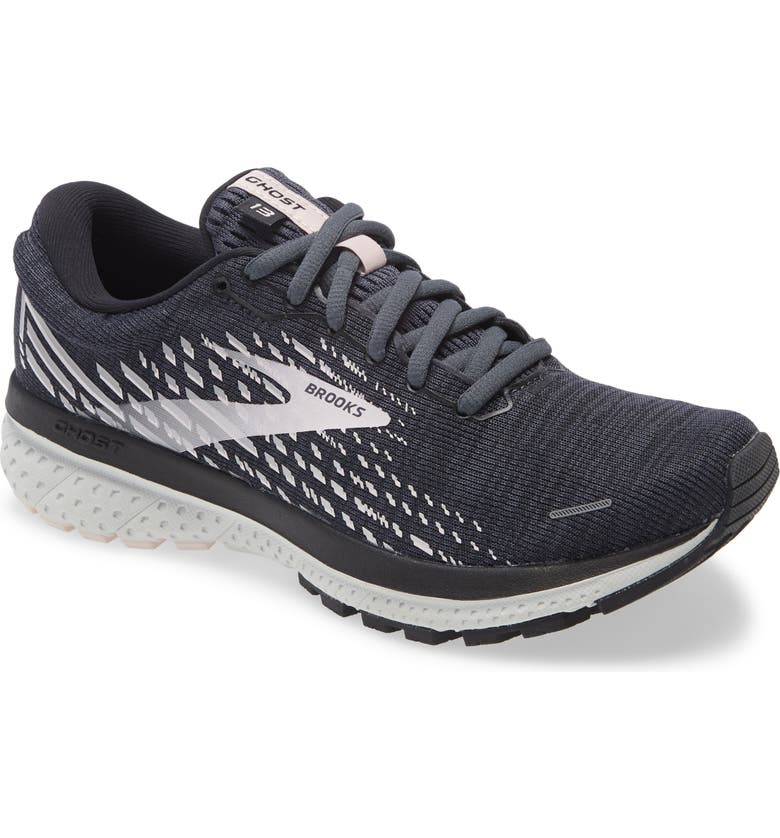 BROOKS Ghost 13 Running Shoe, Main, color, OMBRE/ BLACK/ PRIMROSE