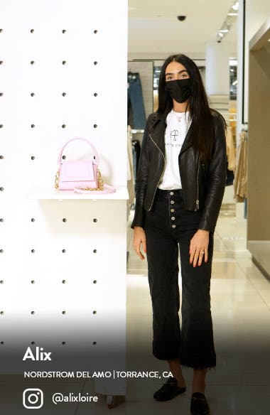 We Are Chic Vegan Leather Top Handle Crossbody, sales video thumbnail