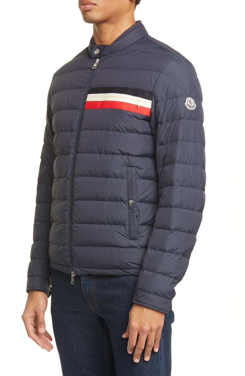 MONCLER Yeres Quilted Puffer Jacket, Main, color, BLUE