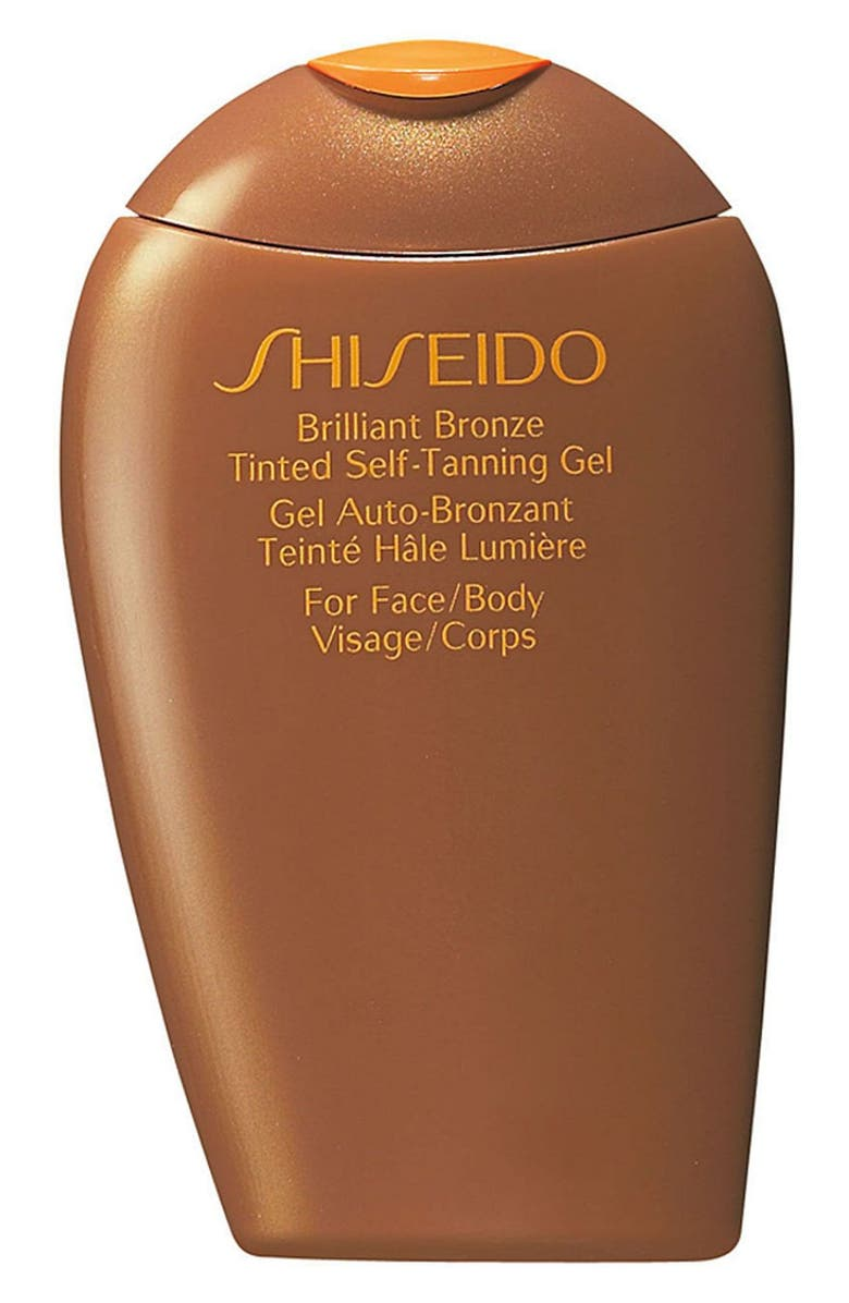 SHISEIDO 'Brilliant Bronze' Tinted Self-Tanning Gel, Main, color, 001