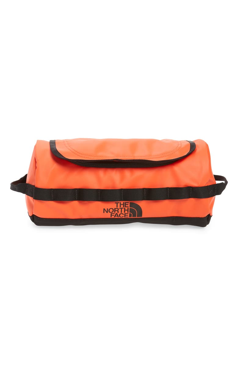 THE NORTH FACE Base Camp Travel Canister, Main, color, FLARE/ TNF BLACK