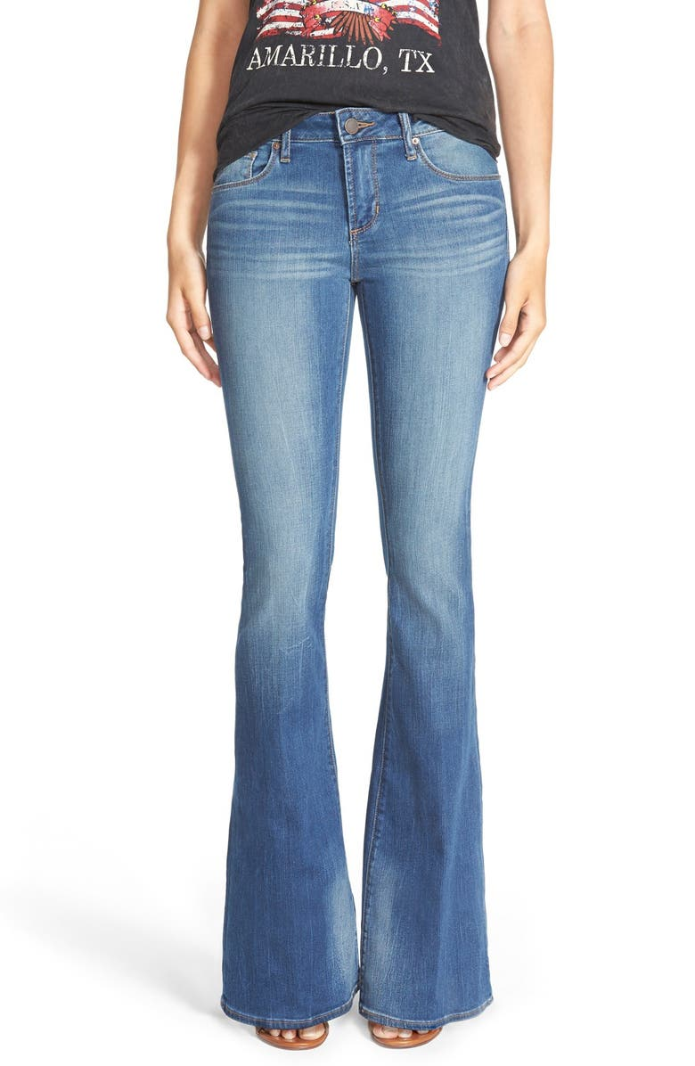 ARTICLES OF SOCIETY Red Label 'Fargo' Flare Jeans, Main, color, MEDORA