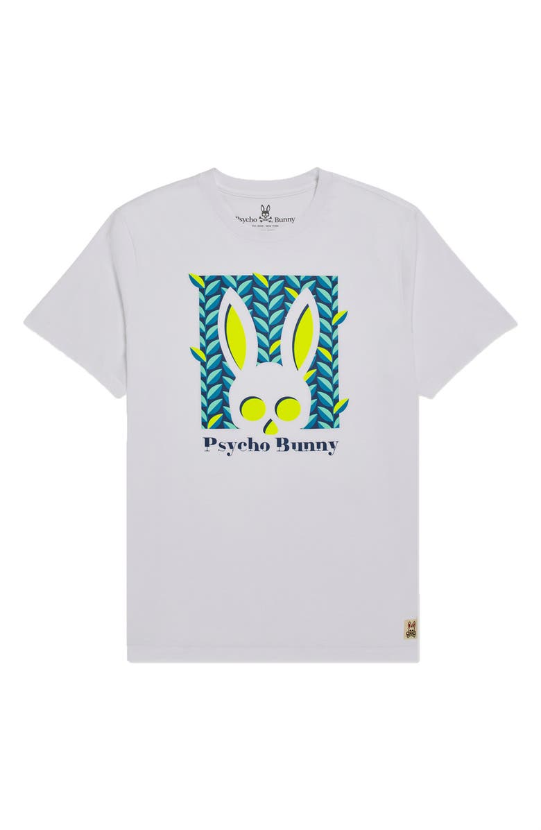 PSYCHO BUNNY Kids' Haines Graphic Tee, Main, color, 100