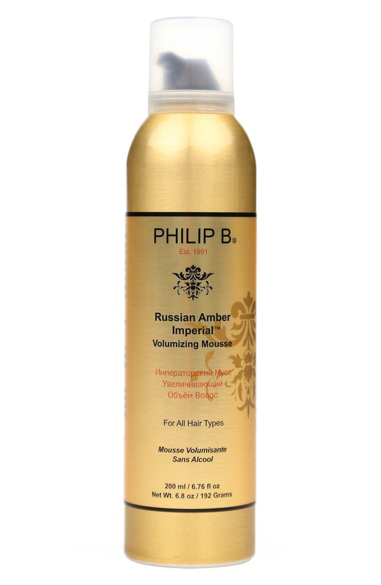 PHILIP B<SUP>®</SUP> Russian Amber Imperial<sup>™</sup> Volumizing Mousse, Main, color, NO COLOR