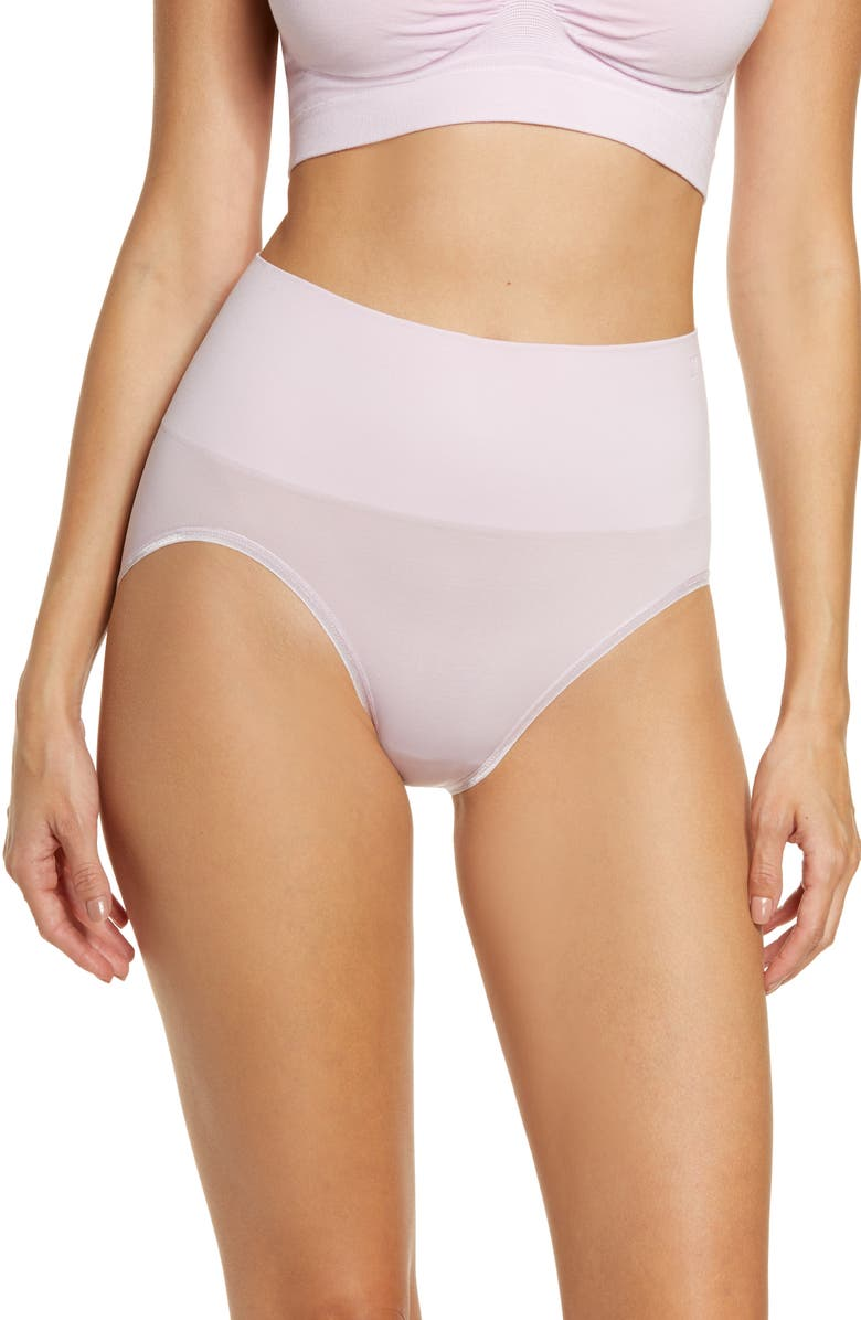YUMMIE Ultralight Seamless Shaping Briefs, Main, color, WINSOME ORCHID
