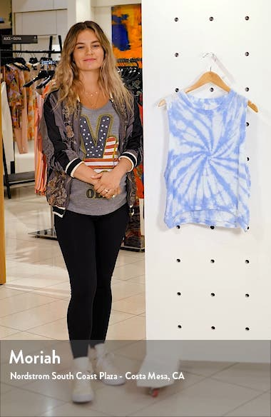 Free People Movement Love Tie Dye Tank, sales video thumbnail