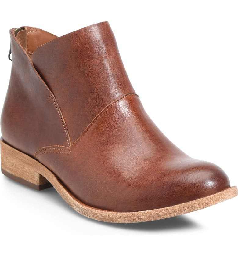 KORK-EASE<SUP>®</SUP> Ryder Ankle Boot, Main, color, RUM LEATHER