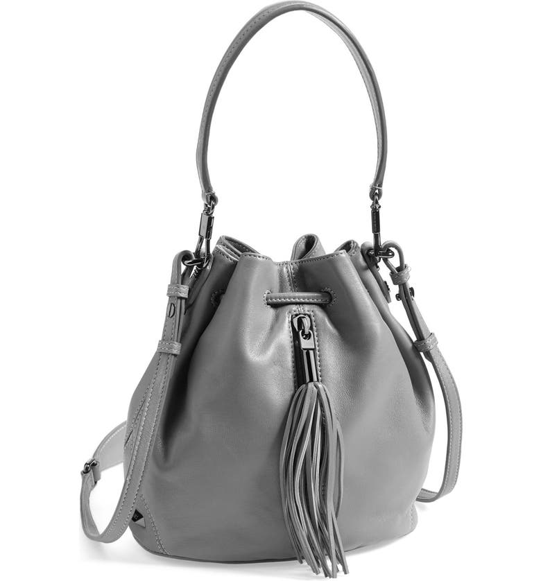 ELIZABETH AND JAMES 'Mini Cynnie' Convertible Bucket Bag, Main, color, 020