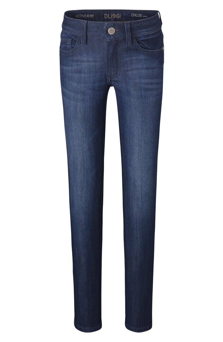 DL1961 'Chloe' Skinny Jeans, Main, color, LIMA