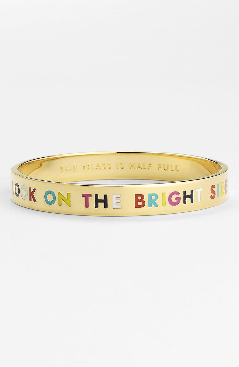 KATE SPADE NEW YORK 'idiom' bangle, Main, color, 710