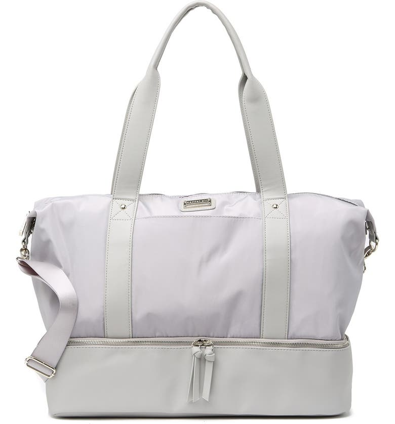MADDEN GIRL Weekend Duffel Bag, Main, color, GRY