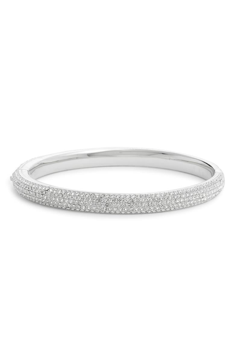 NORDSTROM All Over Pavé Crystal Bangle, Main, color, 040