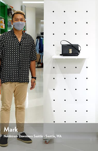 Small TB Grainy Leather Bag, sales video thumbnail