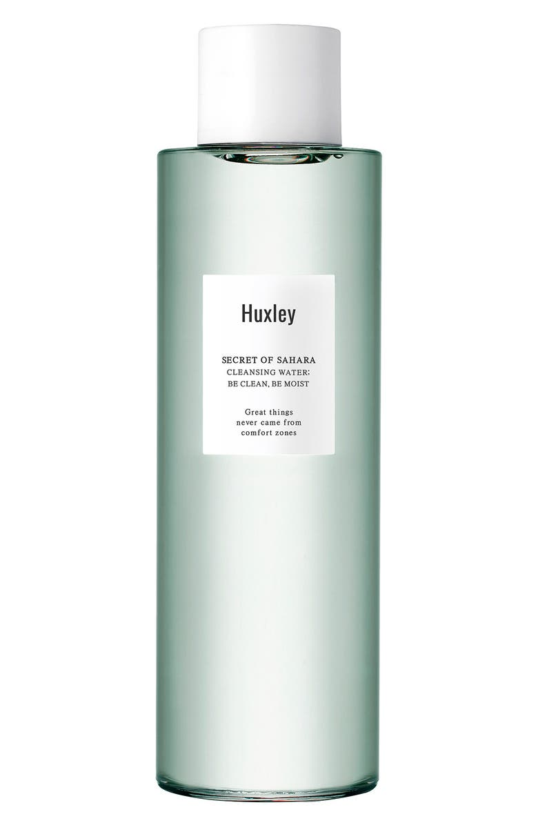 HUXLEY Secret of Sahara - Be Clean Be Moist Cleansing Water, Main, color, 000