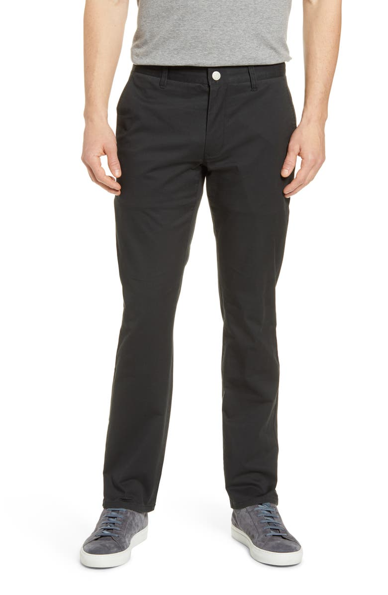 BONOBOS Tailored Fit Stretch Washed Cotton Chinos, Main, color, 001