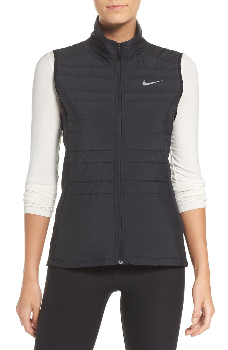 NIKE Essentials Running Vest, Main, color, 010