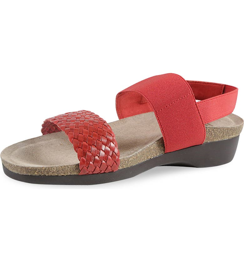 MUNRO 'Pisces' Sandal, Main, color, RED