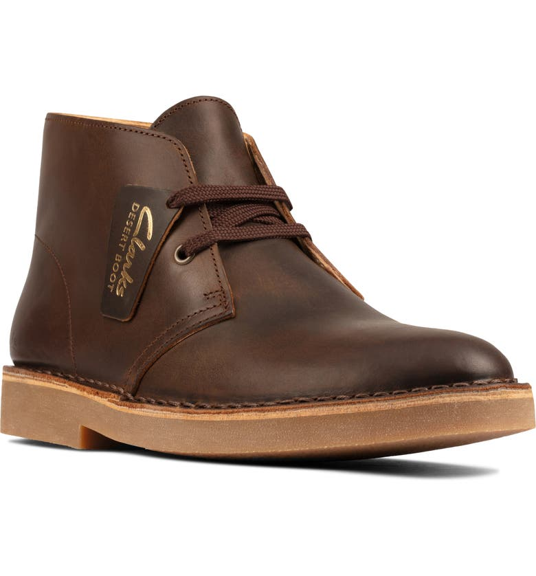 CLARKS<SUP>®</SUP> Desert Boot, Main, color, BEESWAX LEATHER