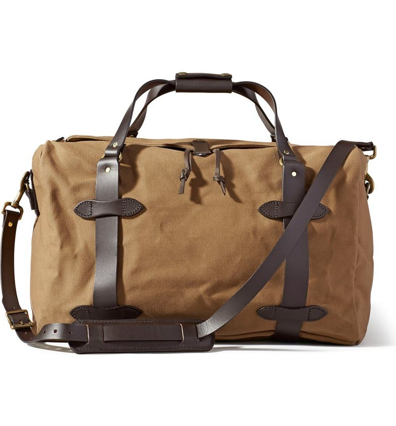 FILSON Medium Duffle Bag, Main, color, TAN