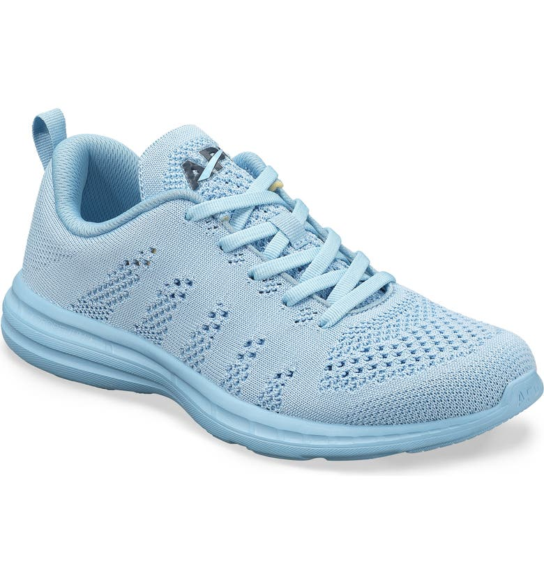 APL TechLoom Pro Knit Running Shoe, Main, color, ICE BLUE / MIDNIGHT