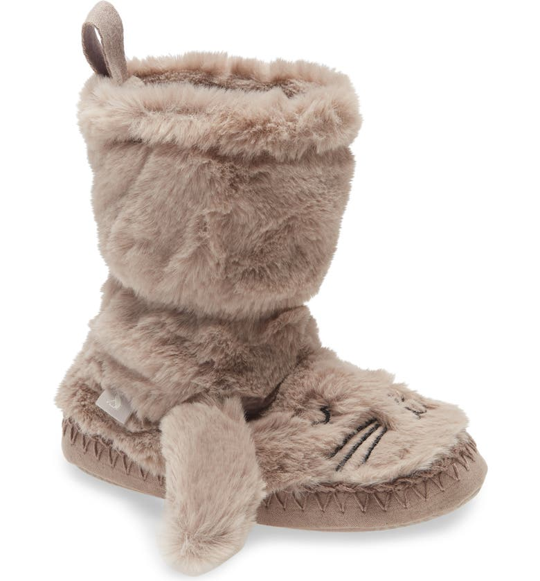 JOULES Fuzzy Slipper, Main, color, BUNNY