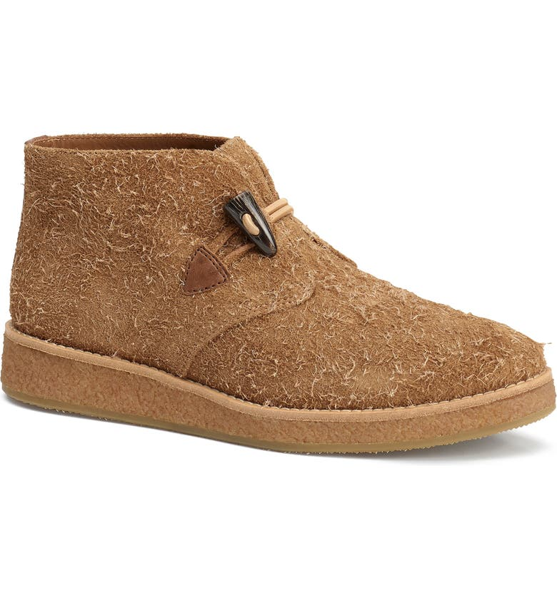 TRASK Carissa Chukka Boot, Main, color, TAUPE SUEDE