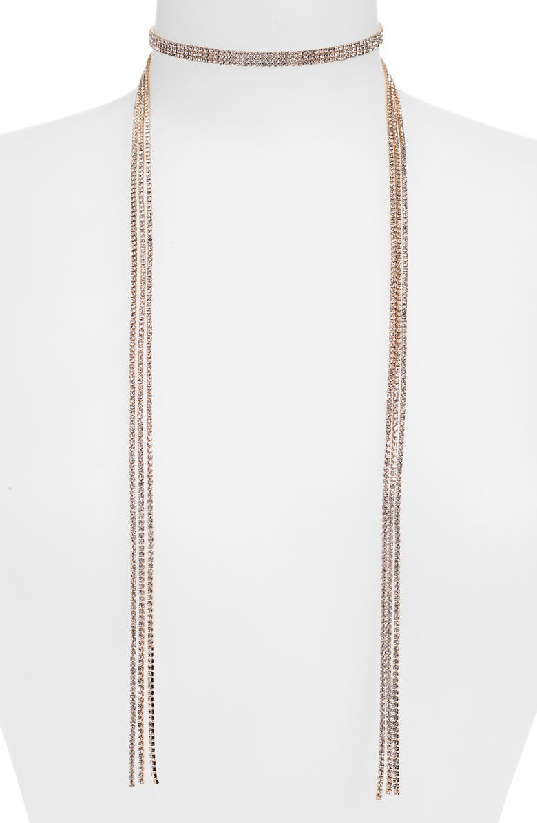 LEITH Crystal Wraparound Necklace, Main, color, 710