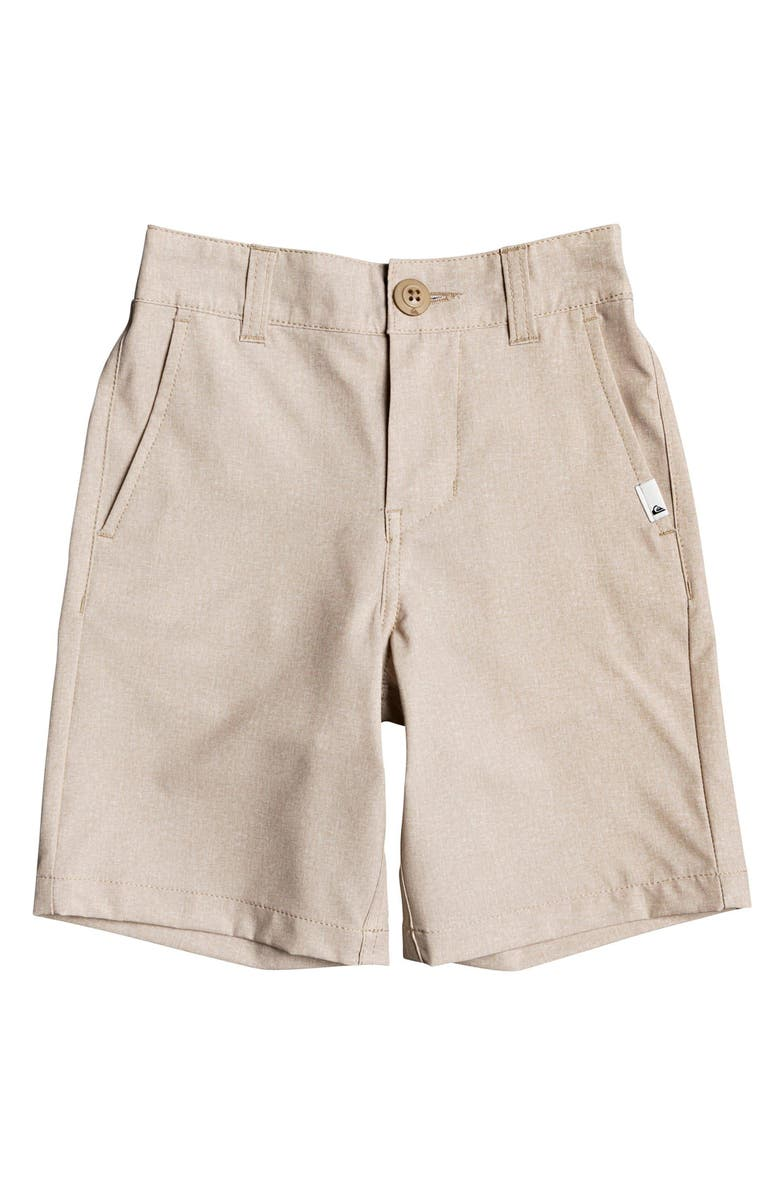 QUIKSILVER Union Heather Amphibian Hybrid Shorts, Main, color, PLAGE