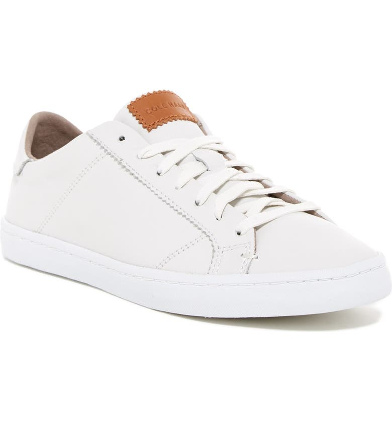 COLE HAAN Mindi Lace Up, Main, color, OPT WHT/OP