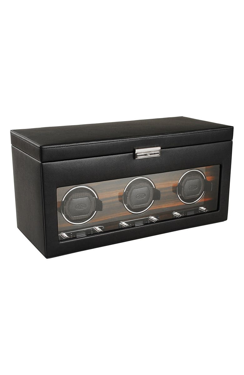 WOLF Roadster Triple Watch Winder & Case, Main, color, 001