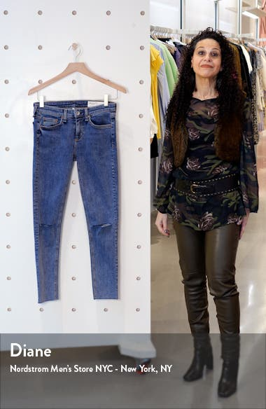 Dre Ripped Crop Skinny Jeans, sales video thumbnail