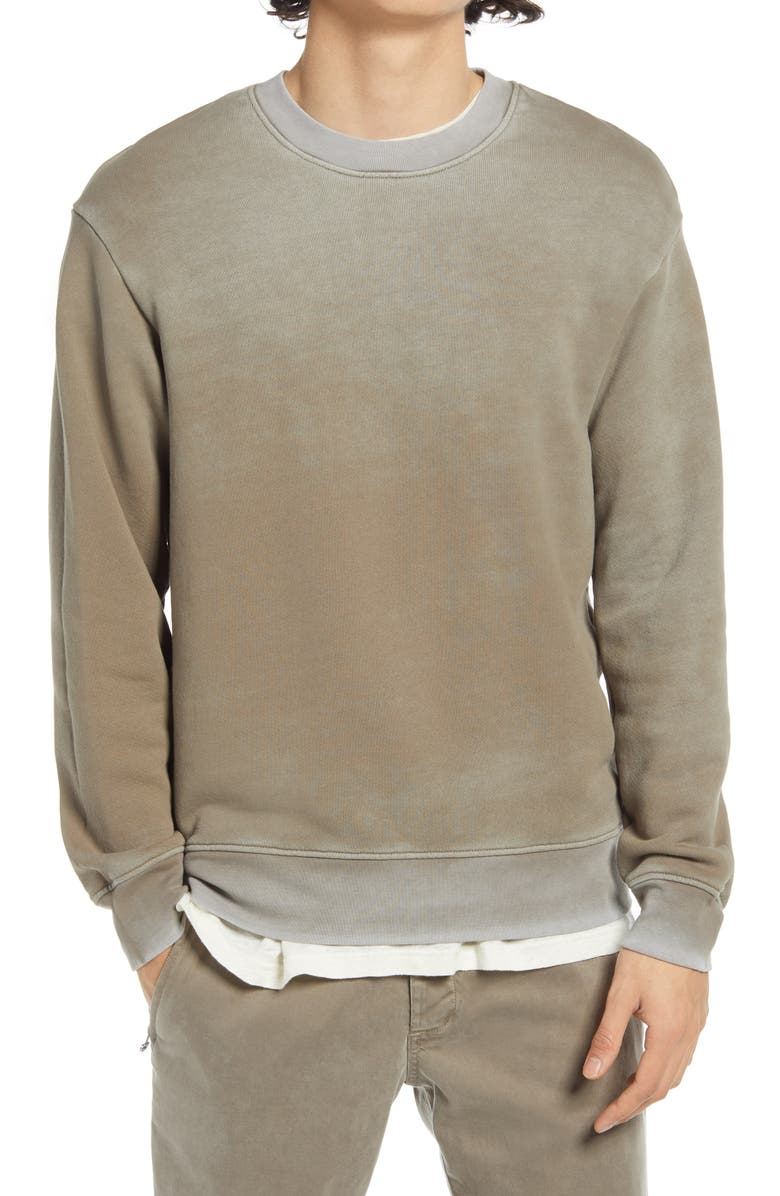 COTTON CITIZEN The Bronx Oversize Sweatshirt, Main, color, VINTAGE ASH