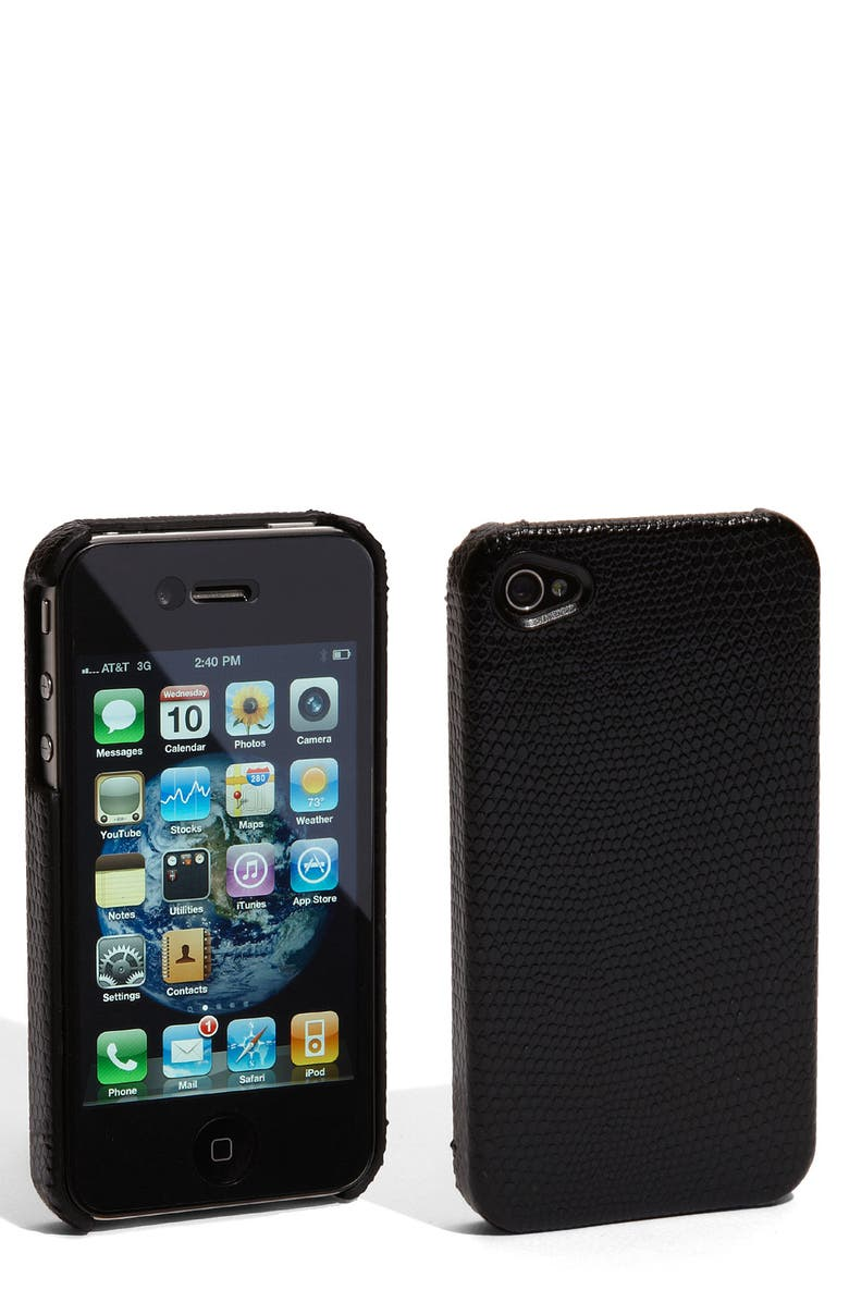 CASE-MATE<SUP>®</SUP> 'Barely There' iPhone 4 Case, Main, color, Black