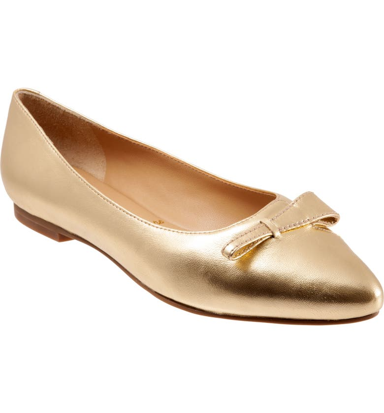 TROTTERS Erica Skimmer, Main, color, GOLD LEATHER