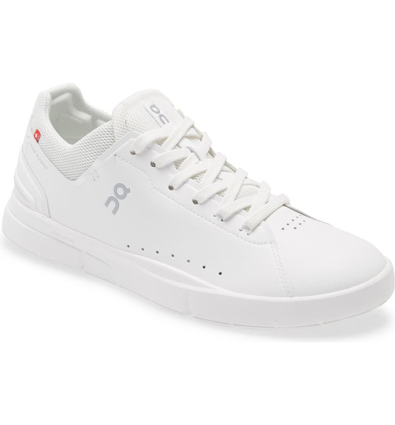 ON THE ROGER Advantage Tennis Sneaker, Main, color, WHITE
