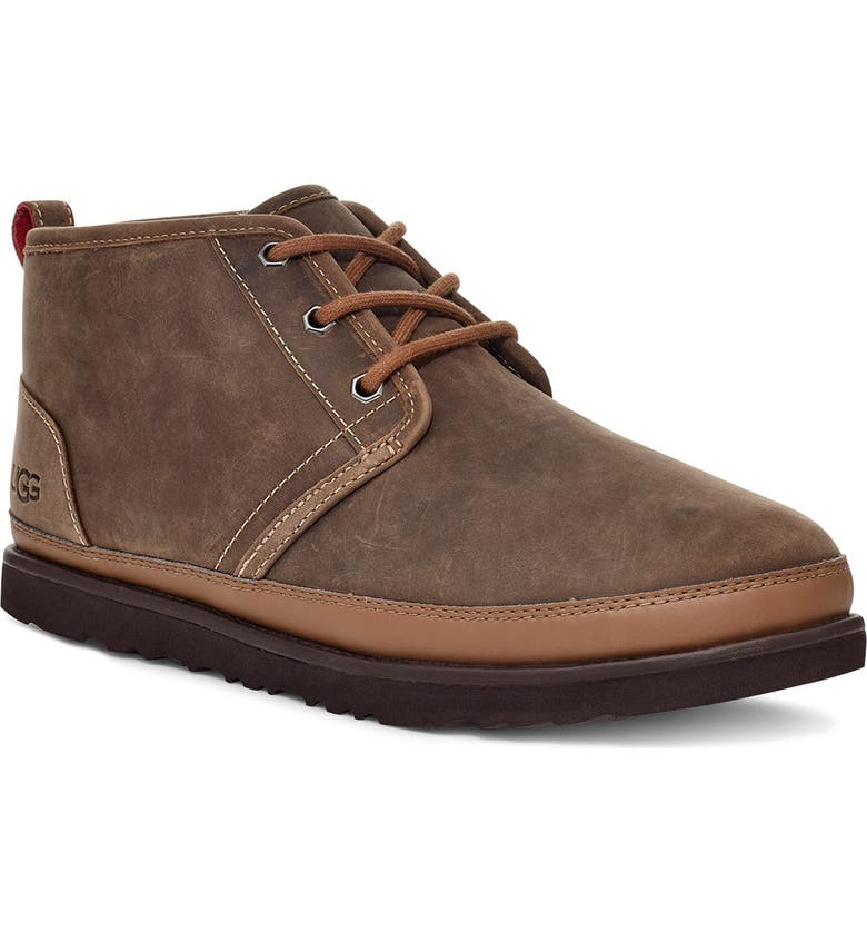 UGG<SUP>®</SUP> Neumel Waterproof Chukka Boot, Main, color, MILITARY SAND LEATHER
