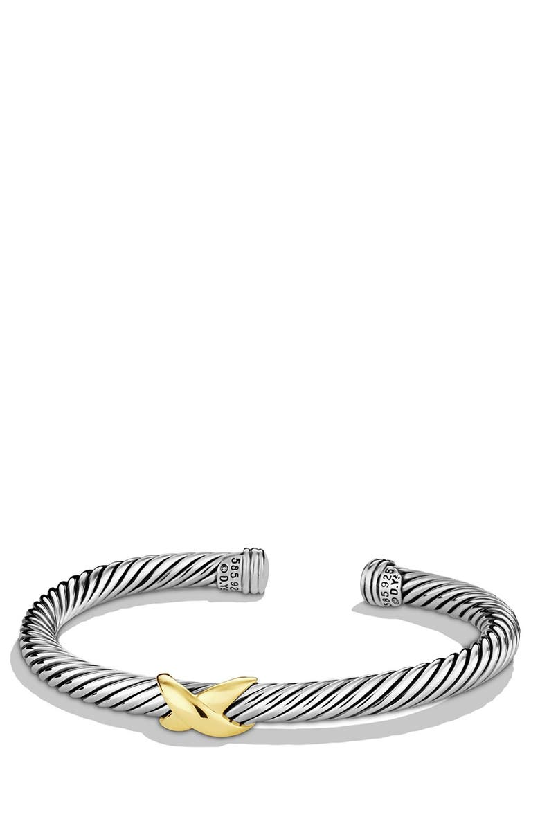 DAVID YURMAN X Bracelet with Gold, Main, color, TWO TONE