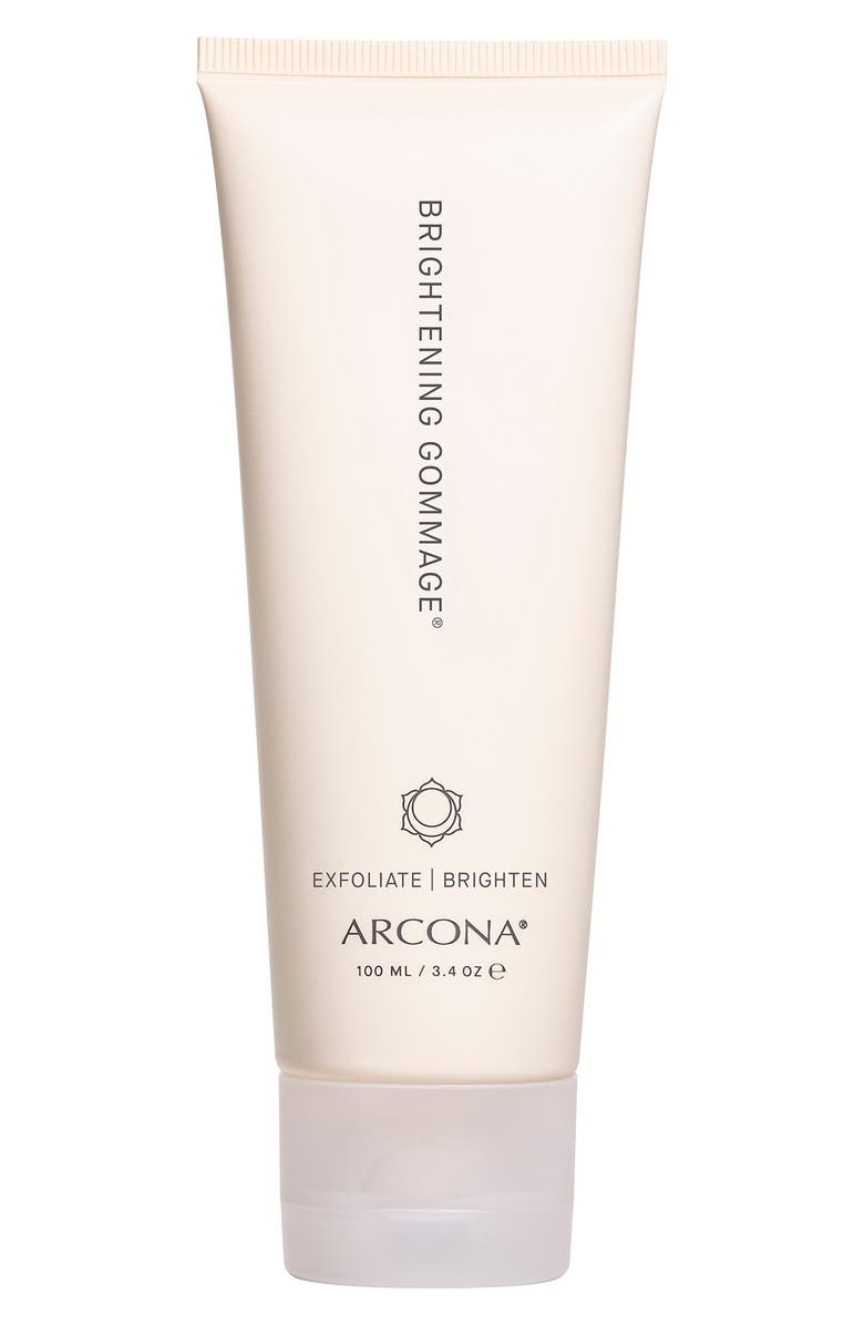 ARCONA Brightening Gommage Brightening Facial Exfoliator, Main, color, NO COLOR