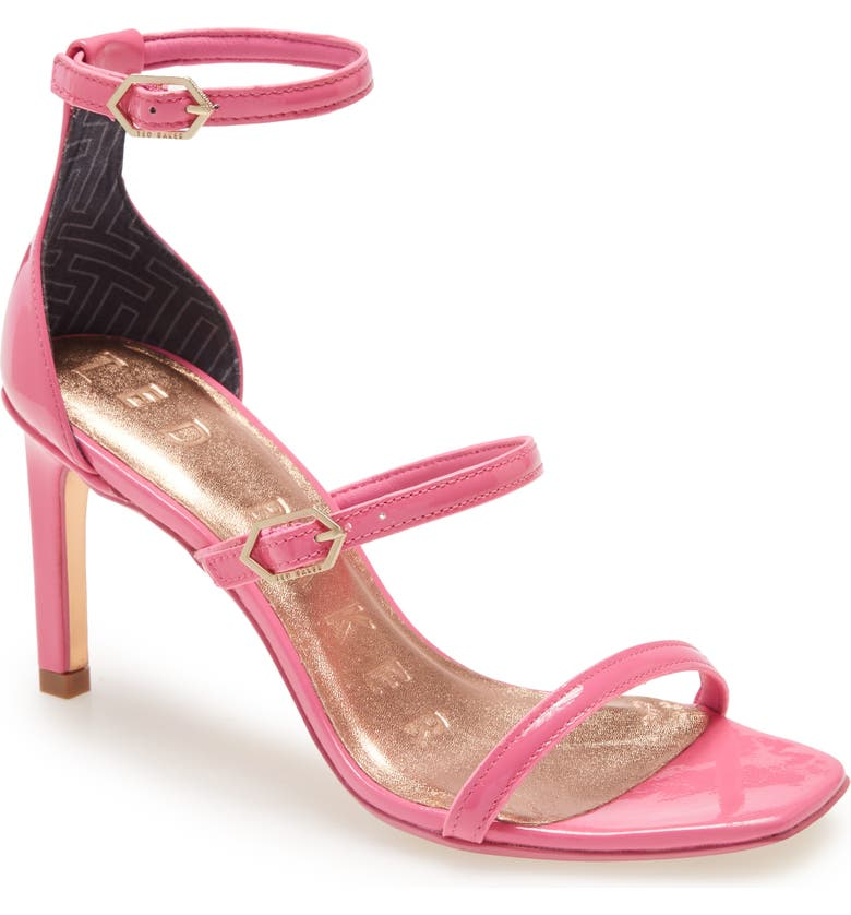 TED BAKER LONDON Triap Strappy Square Toe Sandal, Main, color, 670