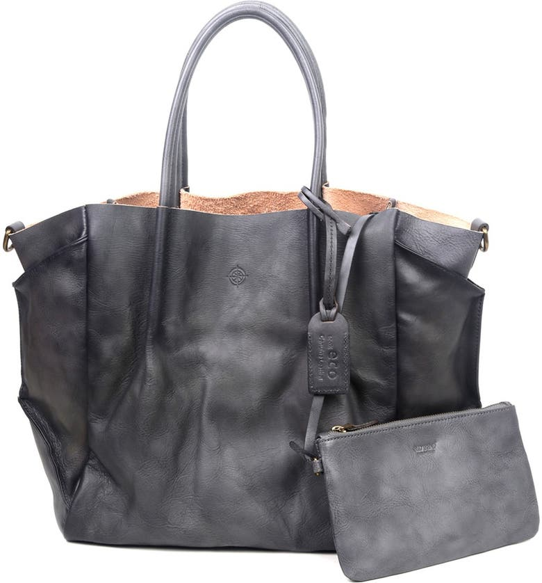 OLD TREND Sprout Land Leather Tote Bag, Main, color, GREY OMBRE