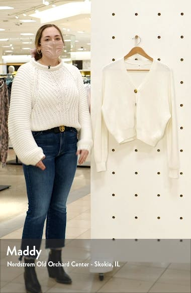 Easy Button Front Cardigan, sales video thumbnail
