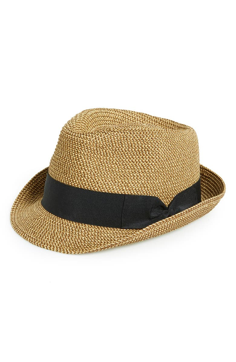 BP. Straw Fedora, Main, color, 250