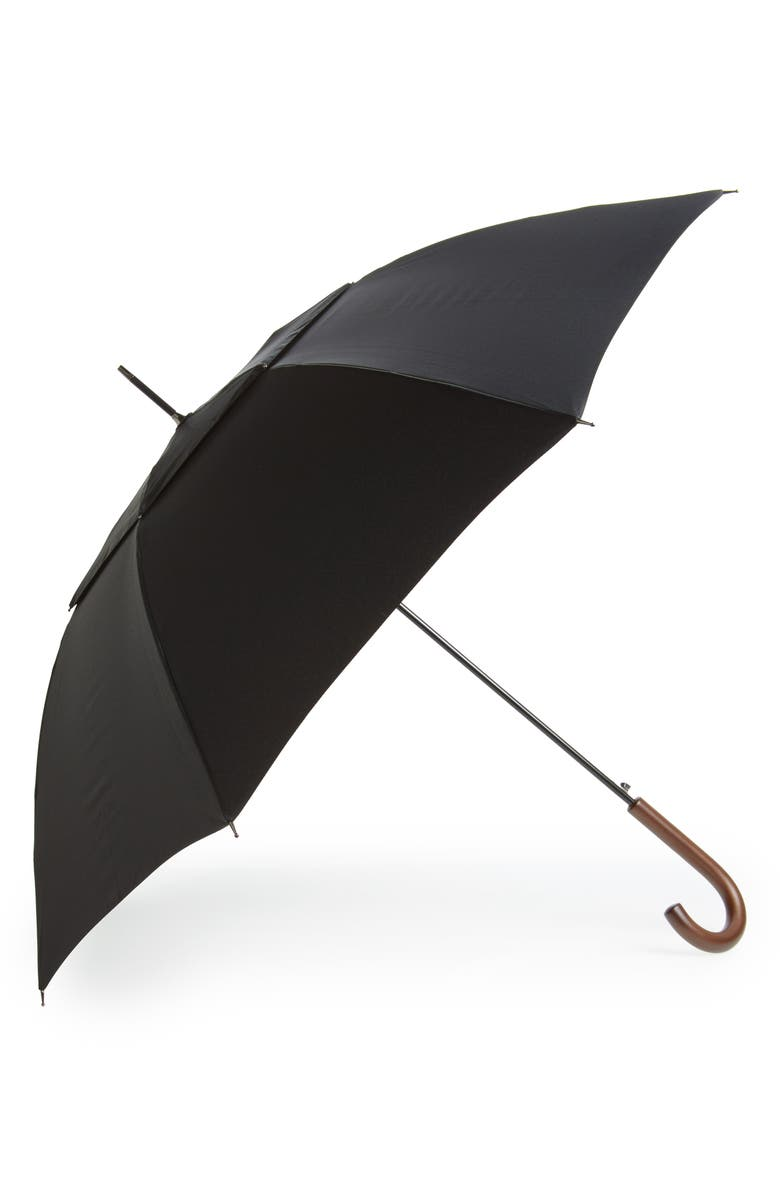 NORDSTROM Umbrella, Main, color, BLACK